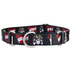 I Love Mom Martingale Dog Collar