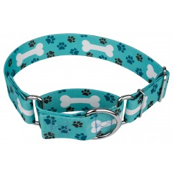 1 1/2 Inch Oh My Dog Martingale Dog Collar