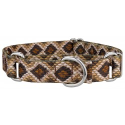 Rattlesnake Martingale Dog Collar