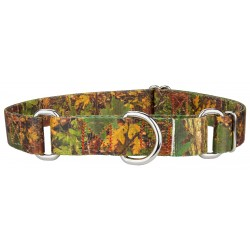 Southern Forest Camo Martingale Dog Collar
