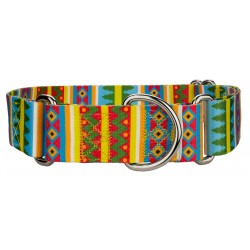 1 1/2 Inch Spring Pines Martingale Dog Collar
