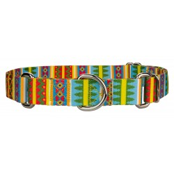 Spring Pines Martingale Dog Collar