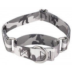 Urban Camo Martingale Dog Collar