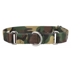 Woodland Camo Martingale Dog Collar