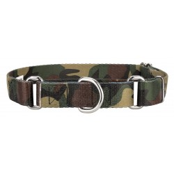 Woodland Camo Featherweight Martingale Dog Collar - Extra Small