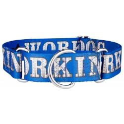 1 1/2 Inch Working Dog Industrial Martingale Dog Collar