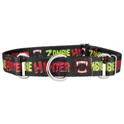 Zombie Hunter Martingale Dog Collar