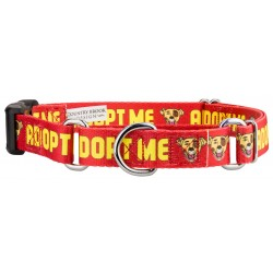 Red Adopt Me Martingale with Deluxe Buckle - Closeout