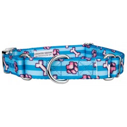Pixel Paws Martingale with Premium Buckle