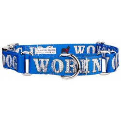 Working Dog Industrial Ribbon Martingale with Premium Buckle