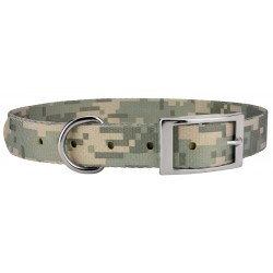 Digital Camo Traditional Dog Collar