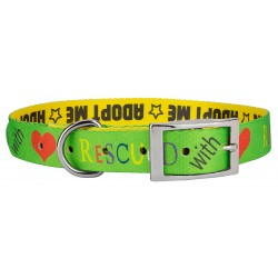Rescued with Love Traditional Dog Collar