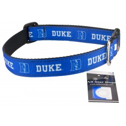 Duke Blue Devils Ribbon Dog Collar