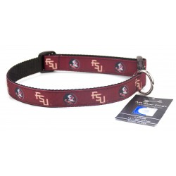 Florida State Seminoles Ribbon Dog Collar