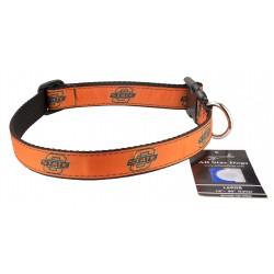 Oklahoma State Cowboys Ribbon Dog Collar