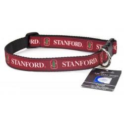 Stanford Cardinals Ribbon Dog Collar