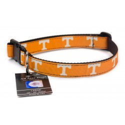 Tennessee Volunteers Ribbon Dog Collar