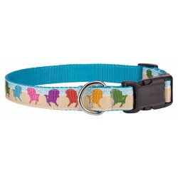 Deluxe Beach Getaway Ribbon Collar