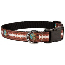 Deluxe Football with Jack Ribbon Dog Collar Limited Edition