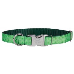Premium Minty Chic Ribbon Dog Collar Limited Edition
