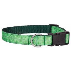 Deluxe Minty Chic Ribbon Dog Collar Limited Edition