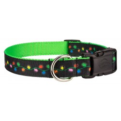 Deluxe Radiant Lights Ribbon Dog Collar
