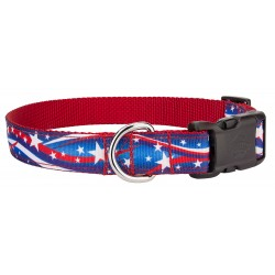Deluxe Star Spangled Ribbon Collar