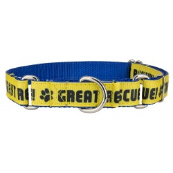 Great Rescue Ribbon Martingale Collar Limited Edition