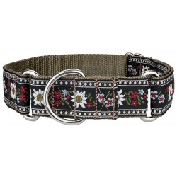 Queen of the Alps Woven Ribbon Martingale Collar