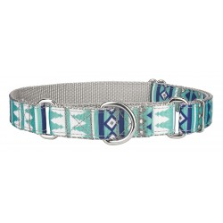 Snowy Pines Ribbon Martingale Collar