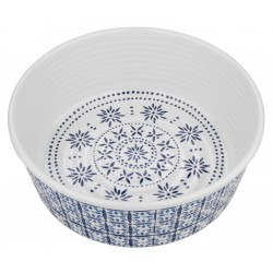 TarHong Shishiko Criss Cross Melamine Pet Bowl, Medium