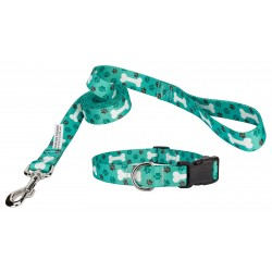 Oh My Dog Deluxe Collar & Leash