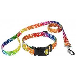 Trippy Doggo Deluxe Dog Collar & Leash