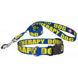 Therapy Deluxe Dog Collar & Leash