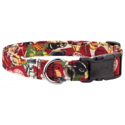 Deluxe Old School Valentine Designer Dog Collar
