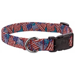 Deluxe Lady Liberty Designer Dog Collar