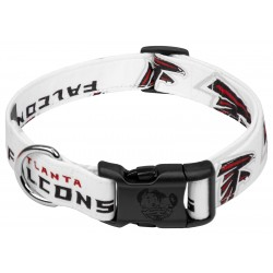 Deluxe Atlanta Falcons Designer Dog Collar