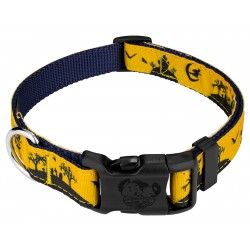 Deluxe Halloween Night  Ribbon Dog Collar Limited Edition