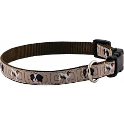 Deluxe Japanese Chin Ribbon Dog Collar