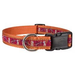 Deluxe My Little Angel/Devil Woven Ribbon Dog Collar Limited Edition