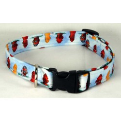 Deluxe Fire Hydrant Designer Dog Collar