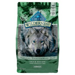 Blue Wilderness® Duck Recipe Adult Dog Food, 24 lb bag