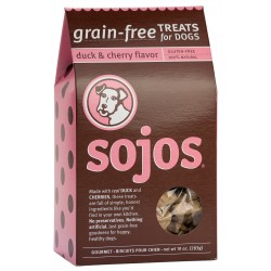 Sojos® Grain Free Duck & Cherry Dog Treats