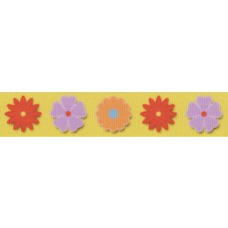 Spring Flowers Ribbon Dog Leash Limited Edition