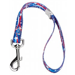 5/8 Inch Star Spangled Cam Lock Grooming Loop