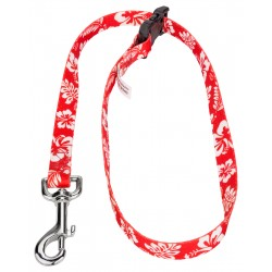 5/8 Inch Red Hawaiian Choker Style Grooming Loop