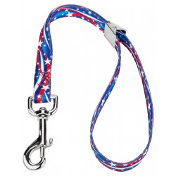5/8 Inch Star Spangled Spring Loaded Grooming Loop
