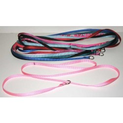 50 - 3/8 Inch Nylon Grooming Slip Leads - 6 Feet - Assorted Colors