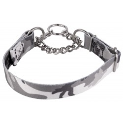 Urban Camo Half Check Dog Collar