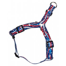 Star Spangled Step-In Dog Harness